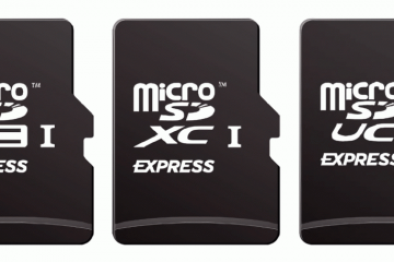 microSD Express format